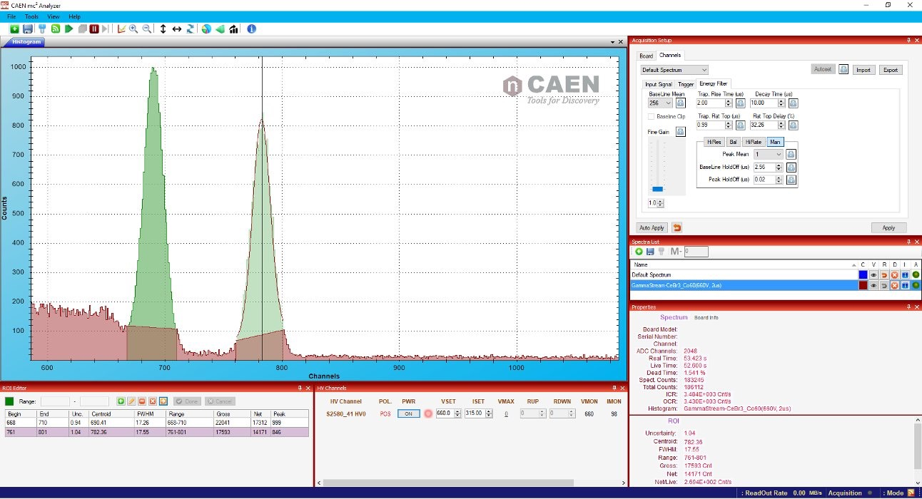 screenshot mc2 analyzer