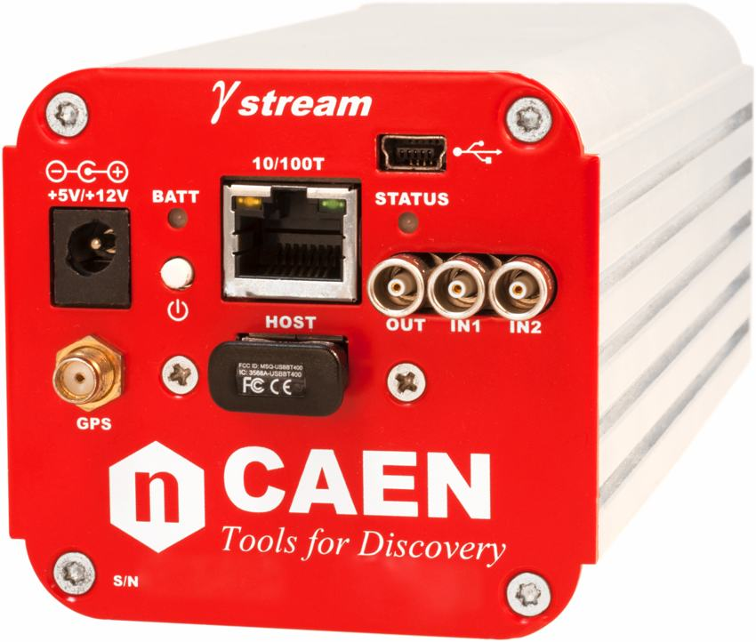 Gamma stream: tube base MCA IoT device