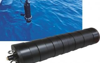 underwater radionuclide identification system