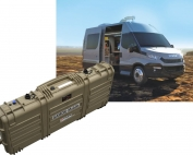 vehicle mountable spectroscopy system, high efficiency detector in a big case easy to moun on vehicle for environmental monitoring on large areas and mapping