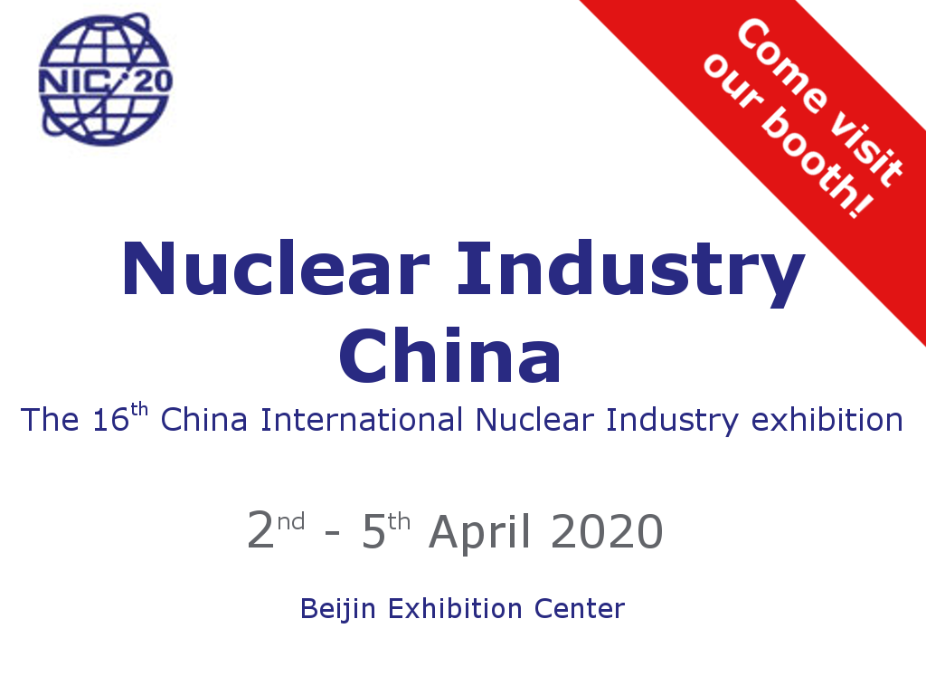 NIC Nuclear Industry China 2020 - CAEN SyS exhibition