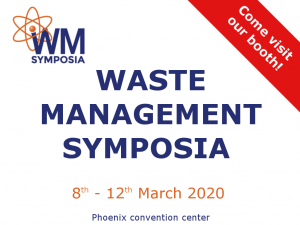 Waste Management Symposia 2020 - CAEN SyS exhibition