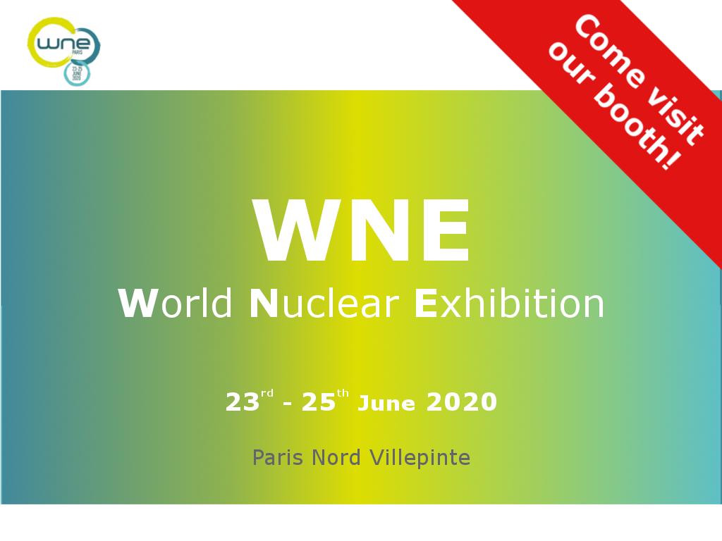 WNE 2020 - world nuclear exhibition - CAEN SyS exhibition