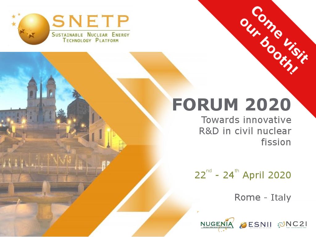 2020-snetp forum - CAEN SyS exhibition
