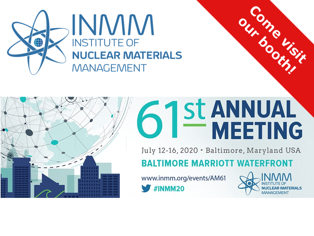 INMM 2020 - Institute of Nuclear Material Management - CAEN SyS exhibition