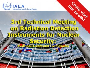 IAEA 3rd Technical Meeting on Radiation Detection Instruments for Nuclear Security - CAEN SyS exhibition